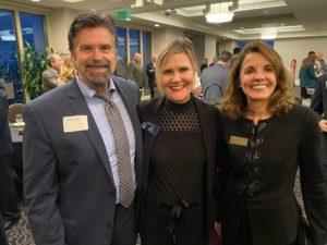 Niel Dawson, Senator Elena Parent and ED for Optomologist.